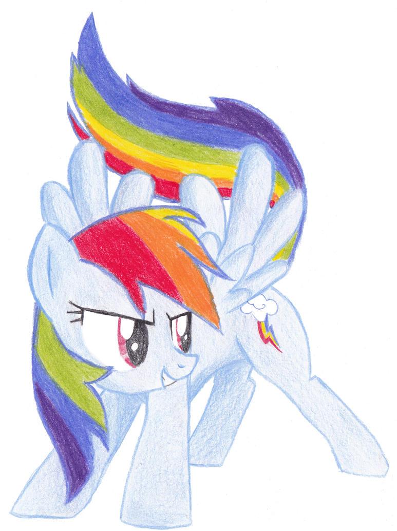 Rainbow Dash [Fixed] by Fatfighterfriedi