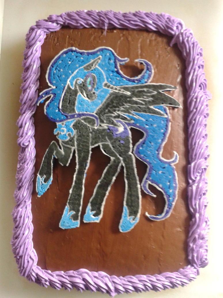 Nightmare Moon Birthday Cake