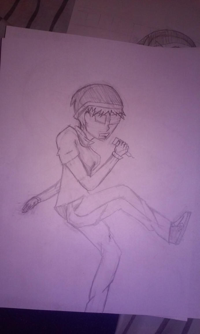 [Quick Sketch] Mic Check with me! 2 by SirShizuka1016