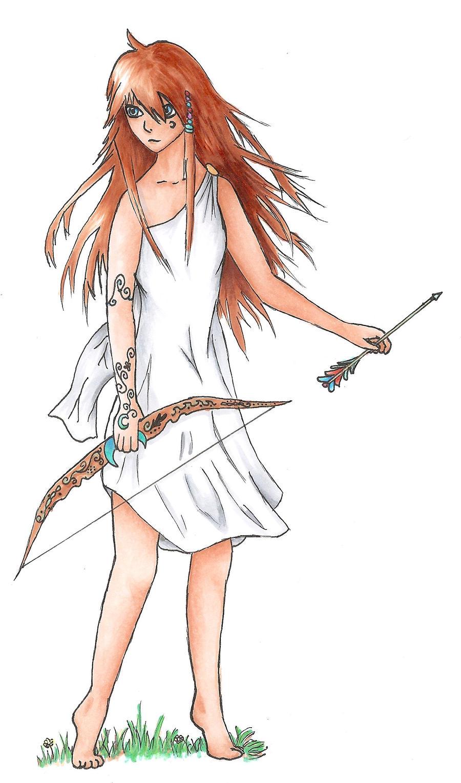 Greek Goddess Artemis by aidylslim on DeviantArt