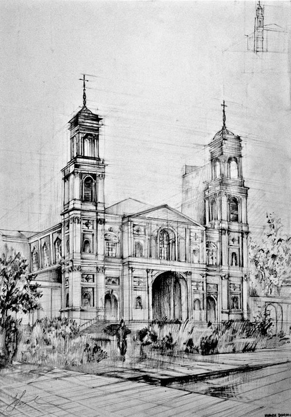 All  Saints Church in Warsaw by vBlackDevilv