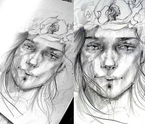 Sketchbook 01 by vBlackDevilv