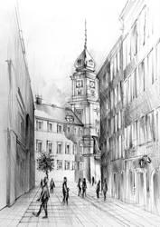 Old town by vBlackDevilv