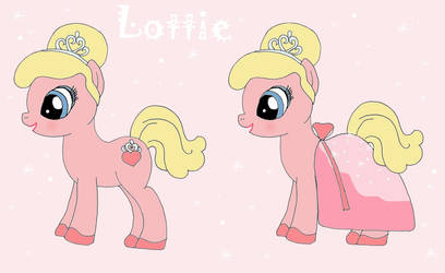 Lottie as MLP by HairyGirl