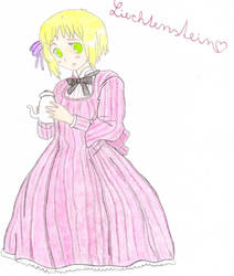 Liechtenstein from Hetalia by HairyGirl