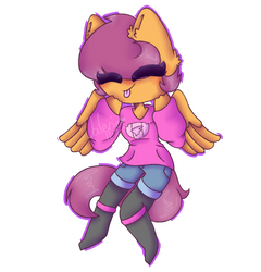 Scootaloo [Gift] by CatGirl22111