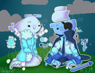 Luna and Bob [JSaB] by CatGirl22111