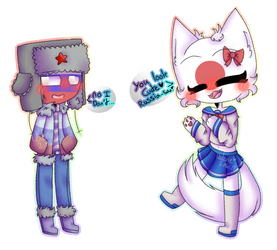 I don't look cute Japan [CountryHumans] by CatGirl22111