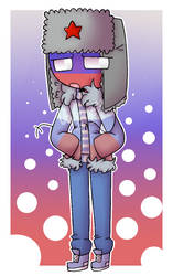 I draw Russia too much omg [CountryHumans] by CatGirl22111