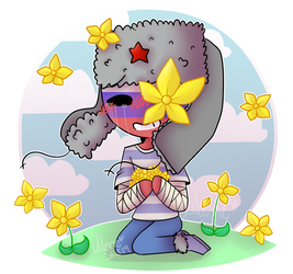 Flowers [CountryHumans] by CatGirl22111