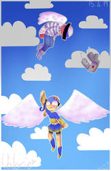 In the sky [CountryHumans] by CatGirl22111