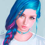 Suicide girl Fay