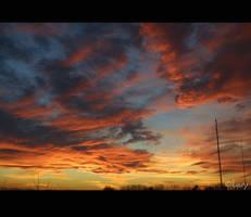 Fiery Dawn by D-Lory