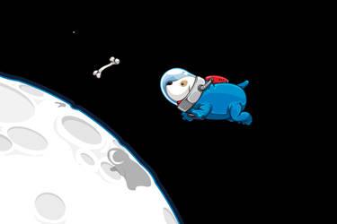 Spacedoggy by davidlanham