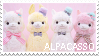 Alpacasso | Stamp by PuniPlush