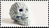 Keyboard Skull | Stamp