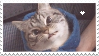 Loki The Vampire Cat Stamp by NamelessStamps