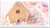 Funfetti Gingerbread House | Stamp by PuniPlush