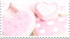 Heart Cookies | Stamp by NamelessStamps