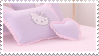 Hello Kitty Bed | Stamp by PuniPlush