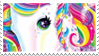 Lisa Frank Unicorn | Stamp