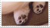 Puppy Paws Stamp by NamelessStamps