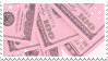 Pink Money | Stamp
