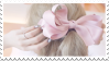 Pink Hairbow | Stamp
