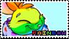 Rainbow Cybunny | Stamp by PuniPlush