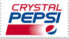 Crystal Pepsi Logo Stamp by NamelessStamps