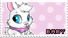 Baby Cybunny | Stamp by PuniPlush