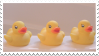 Rubber Duckies | Stamp by PuniPlush