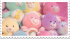 Care Bear Plushie Pile | Stamp