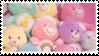 Care Bear Plushie Pile | Stamp by PuniPlush
