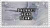 Always Wear Jeans | Stamp by PuniPlush