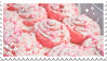 Pink Cinnamon Rolls | Stamp by PuniPlush