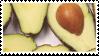 Avocado   Stamp by PuniPlush