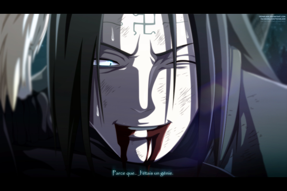 Naruto 614 - Neji.. by Tremblax