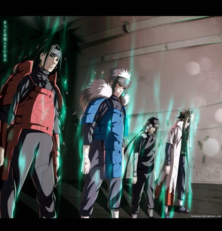 Naruto 618 - Hokages [UPDATED] by Tremblax
