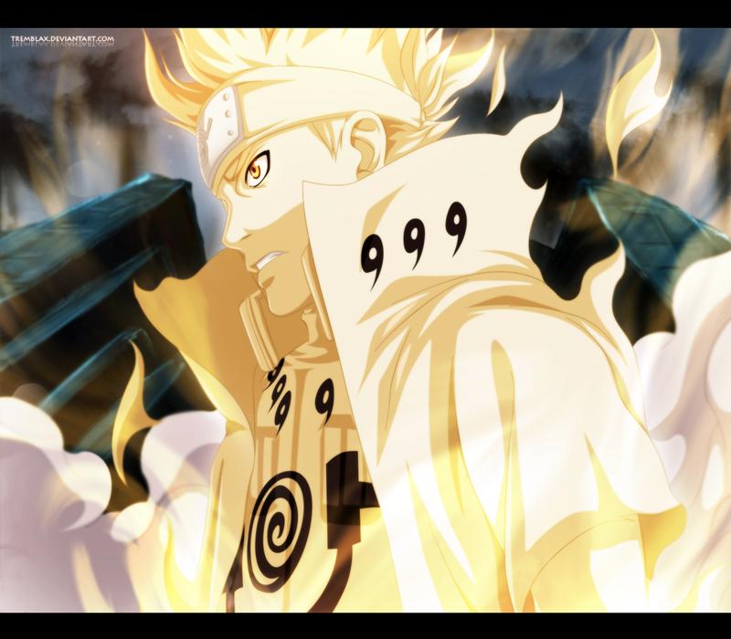 Naruto 631 - Minato Bijuu Mode by TremblaxNaruto And Minato Bijuu Mode