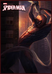 Spiderman (fake marvel cover) by RamzyKamen