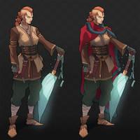Character Design - GUCCI VIKING by RamzyKamen