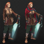Character Design - GUCCI VIKING