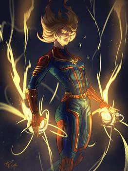 Captain Marvel 2019 by RamzyKamen