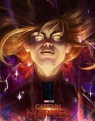 Captain Marvel by RamzyKamen