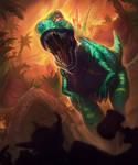 Dino by RamzyKamen