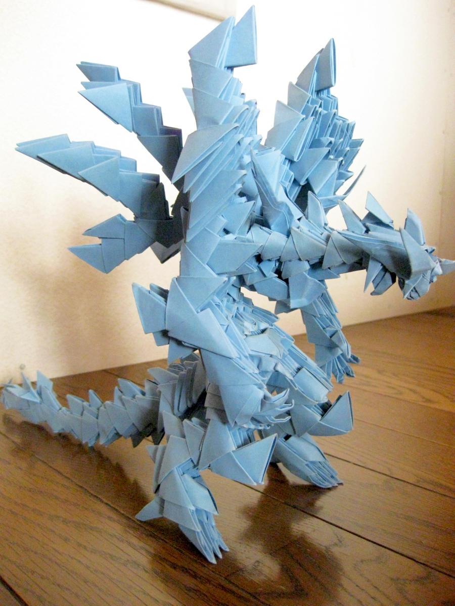 3d origami by kumazaza