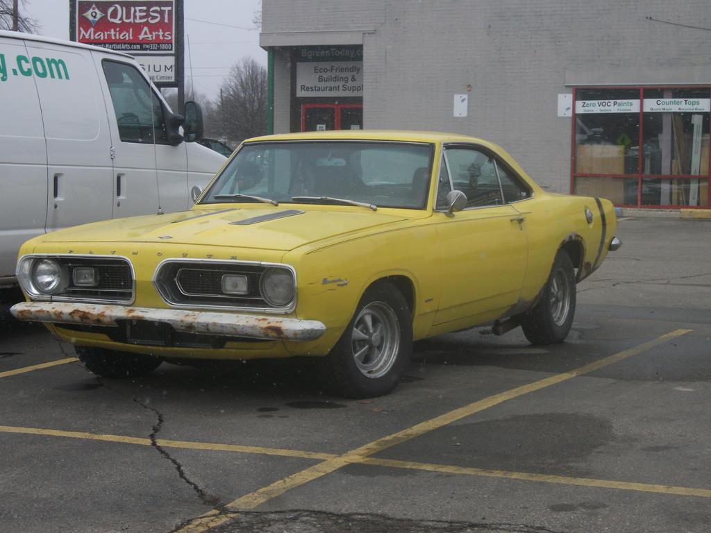 1967 Plymouth Baracuda by Cloudkicker8903