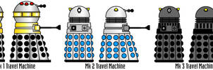 Mk1-3 Dalek Travel Machines