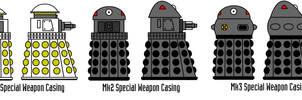 Mk1-3 Special Weapon Daleks
